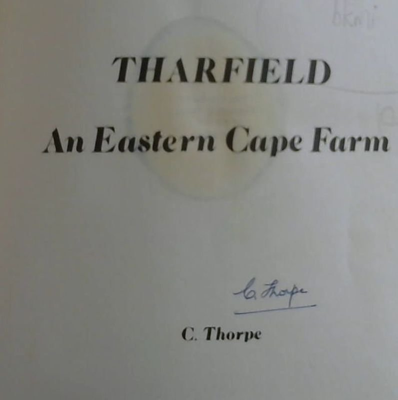 Image for Tharfield : An Eastern Cape Farm