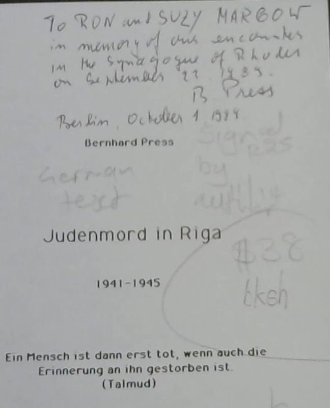 Image for Judenmord  in  Lettland  1941-1945