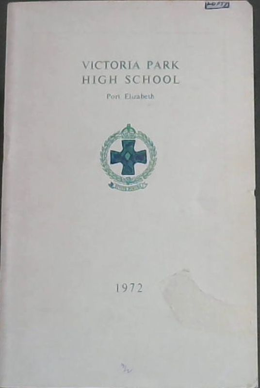 Image for Victoria Park High School Port Elizabeth 1972