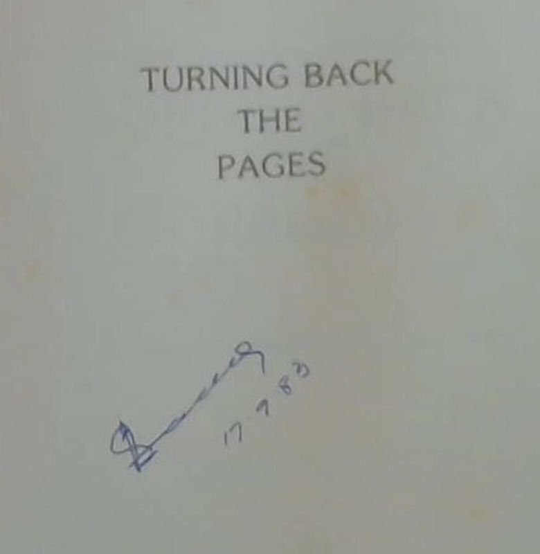 Image for Turning Back the Pages : The Story of a Noorsveld Town and District : Jansenville