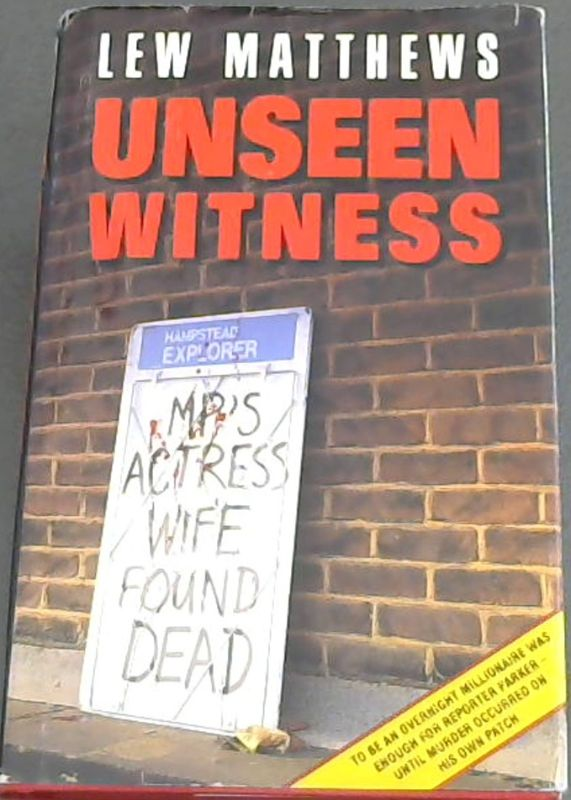 Image for Unseen Witness