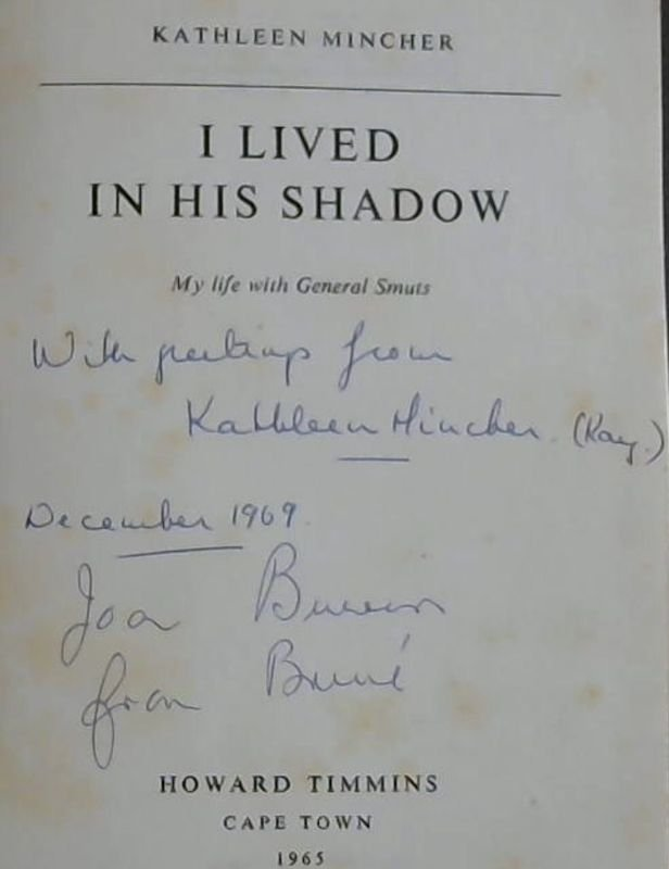 Image for I Lived in His Shadow - My life with General Smuts