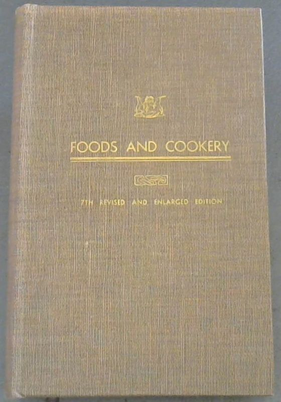 Image for Foods  &  Cookery  [The  Housewife's  Guide]
