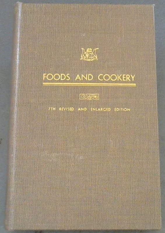 Image for Foods  &  Cookery[The  Housewife's  Guide]