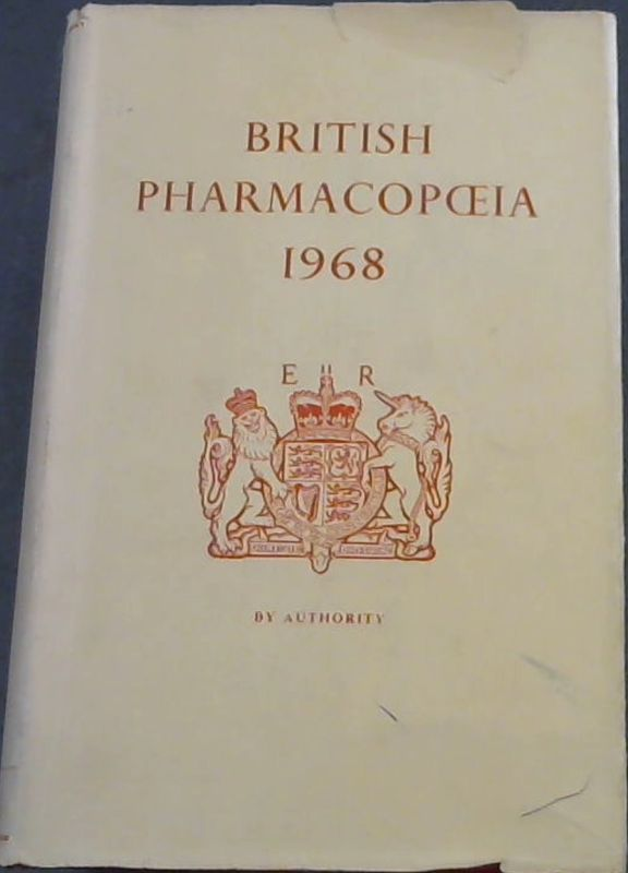 Image for British Pharmacopoeia 1968: Pursuant to the Medical Act 1956