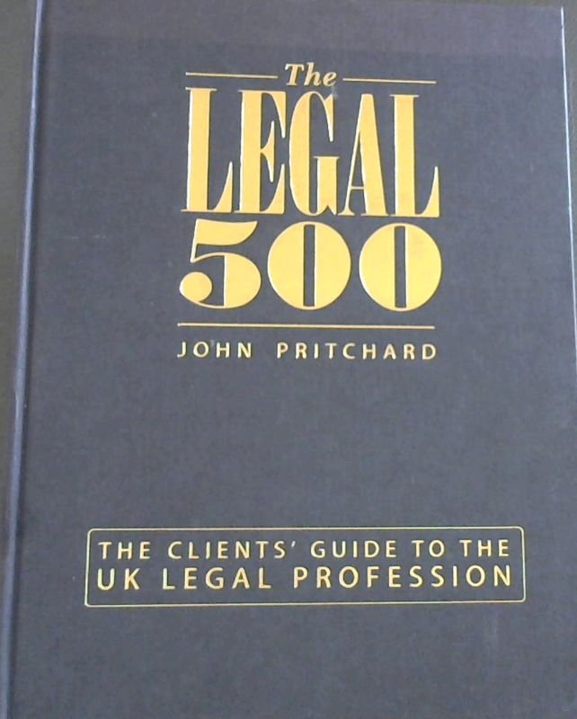 Image for Legal 500; The  Uk  Edition