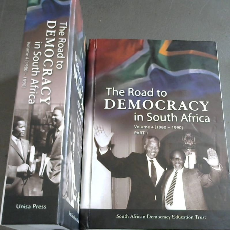 Image for The Road to Democracy in South Africa : Volume 4 [1980-1990] Parts 1 and 2