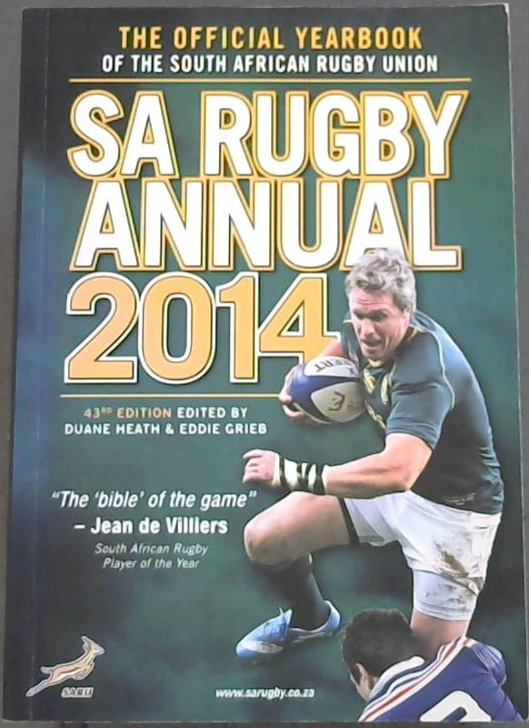 Image for Sa Rugby Annual 2014: The Official Yearbook of the South African Rugby Union
