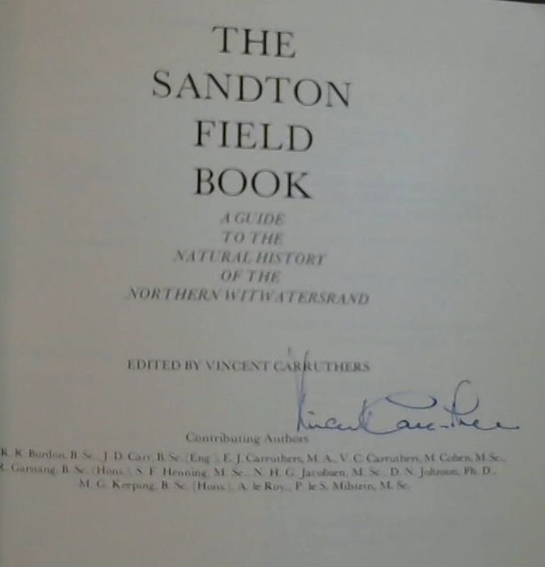 Image for The Sandton Field Book