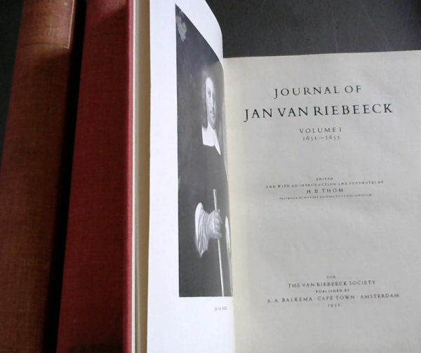 Image for Journal of Jan van Riebeeck - 3 volumes