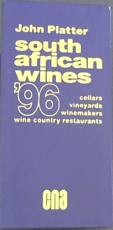 Image for John Platter's South African Wines 1996