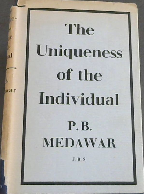 Image for The Uniqueness Of The Individual