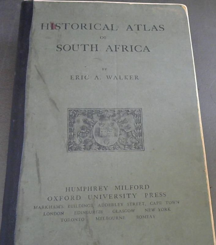 Image for Historical Atlas of South Africa