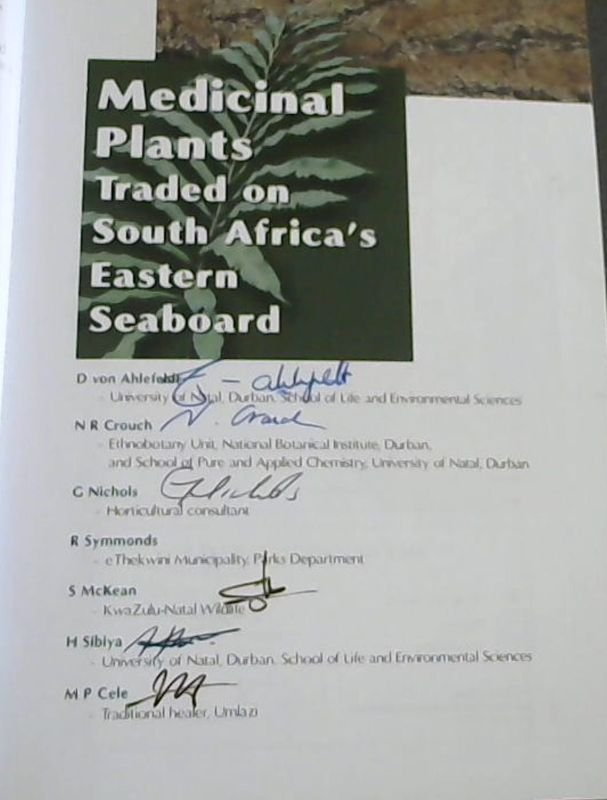 Image for Medicinal Plants Traded on South Africa's Eastern Seaboard