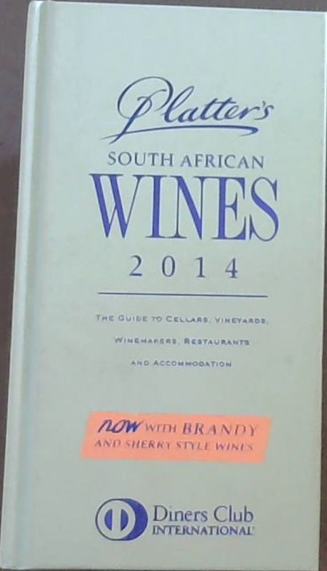 Image for Platter's South African Wine Guide 2014 2014