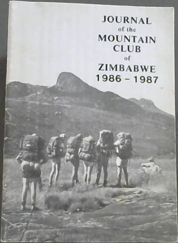 Image for Journal of the Mountain Club of Zimbabwe 1986 - 1987