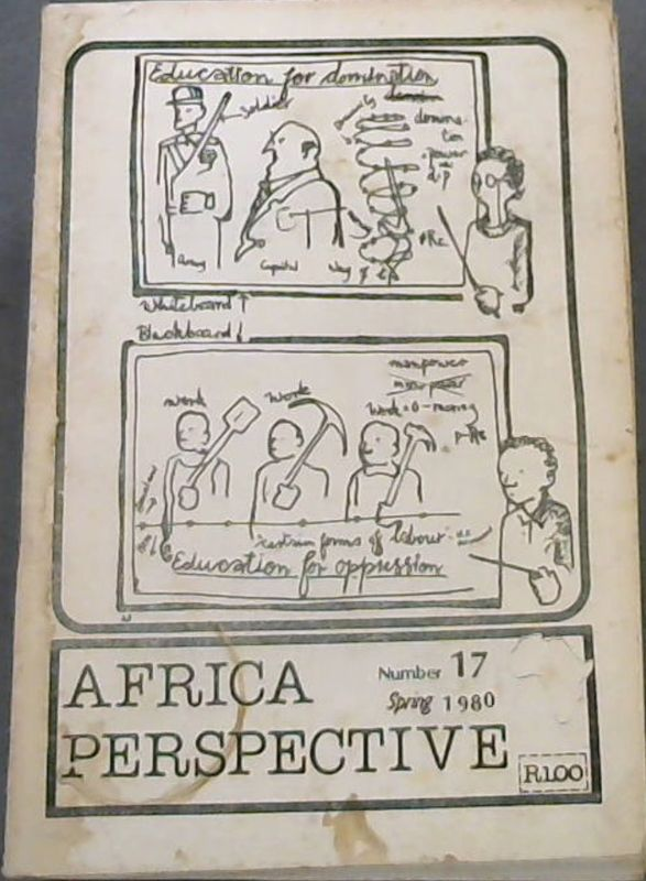 Image for Africa Perspective Number 17, Spring 1980
