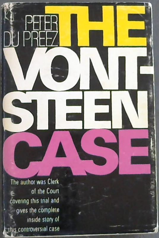 Image for The Vontsteen Case