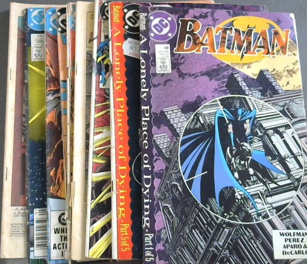 Image for Batman 440 ; Batman 442 ; Batman 443 ; The Brave & The Bold Vol 28 No 192 ; The Brave & The Bold Vol 29 No 198 ; World's Finest Comics Vol 43 No 290 ; Batman Vol 43 No 348 ; Detective Comics 586 ; Detective Comics 595