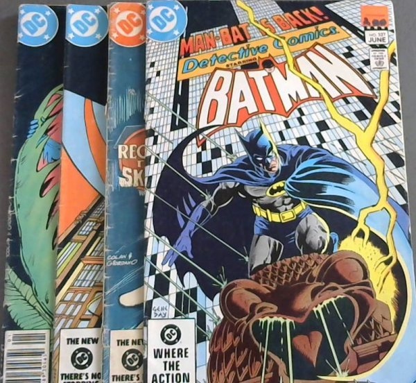 Image for Detective Comics Vol 47, No 527 ; Detective Comics Vol 47 No 528 ; Detective Comics Vol 47 No 529 ; Detective Comics 534