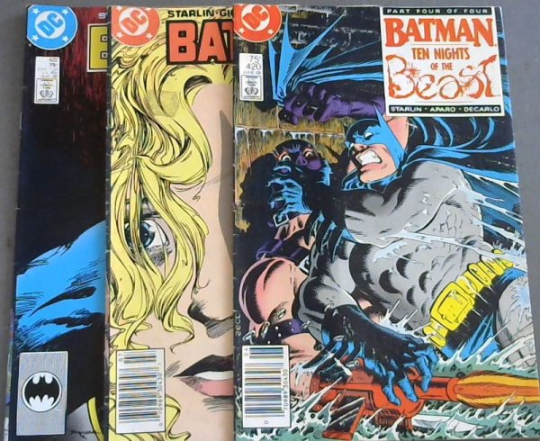 Image for Batman 371 ; Batman 375 ; Batman 377 ; Batman 381