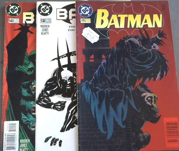 Image for Batman 520 ; Batman 538 ; Batman 540