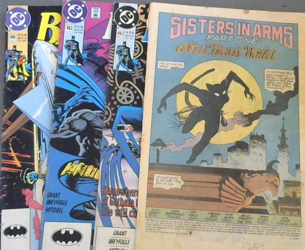 Image for Batman 460 ; Batman 462 ; Batman 463 ; Batman 466
