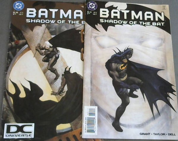 Image for Batman: Shadow of the Bat 51 ; Batman: Shadow of the Bat 52