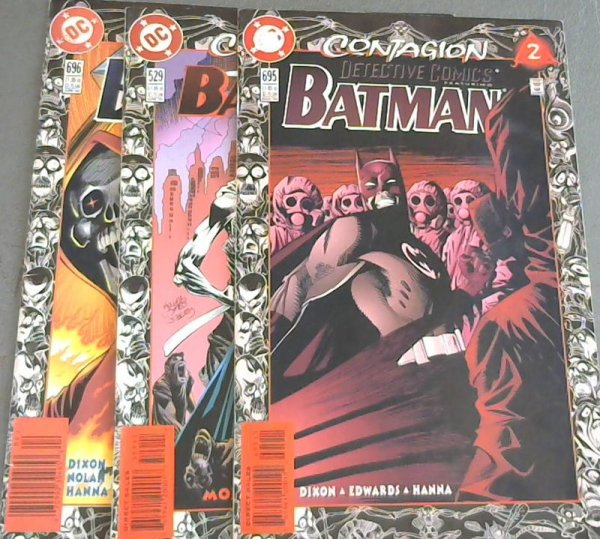 Image for Detective Comics 695 ; Batman 529 ; Detective Comics 696
