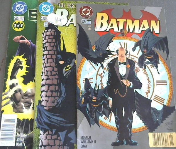 Image for Batman 526 ; Batman 530 ; Batman 535