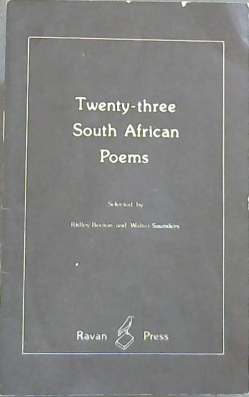 Image for Twenty-three South African poems