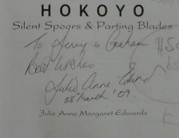 Image for Hokoyo : Silent Spoors & Parting Blades