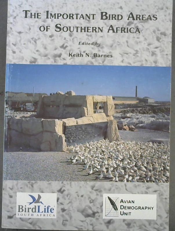 Image for The Important Bird Areas of Southern Africa