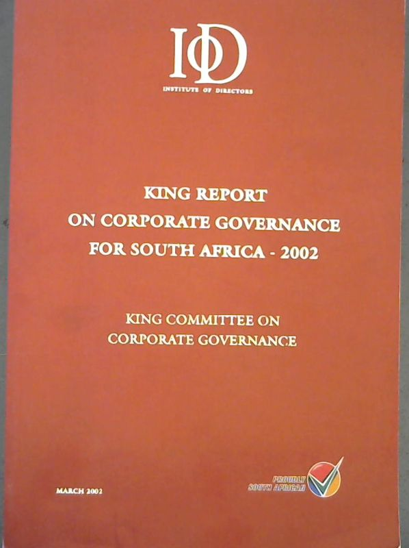 Image for King Report on Corporate Governance for South Africa - 2002