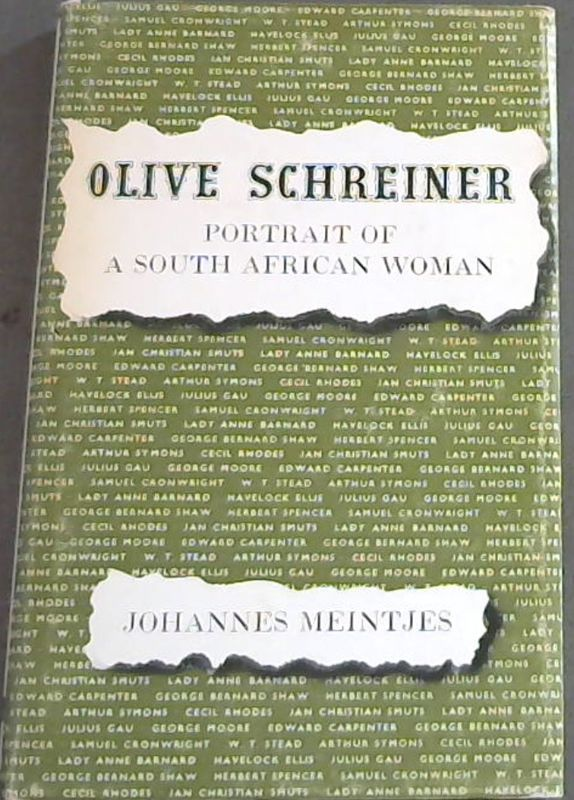 Image for Olive Schreiner : A Portrait of a South African Woman