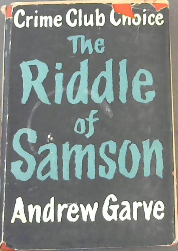 Image for The Riddle Of Samson