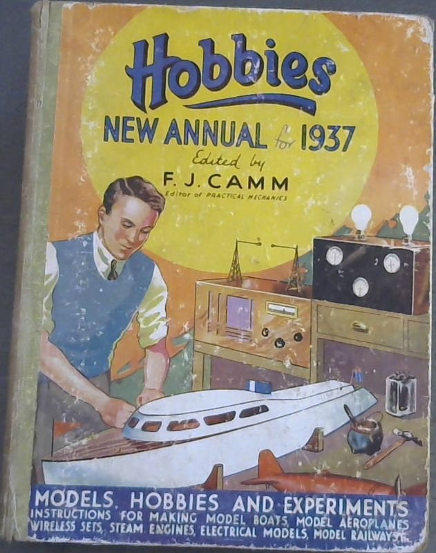 Image for Hobbies - New Annual for 1937