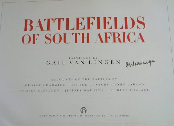 Image for Battlefields of South Africa