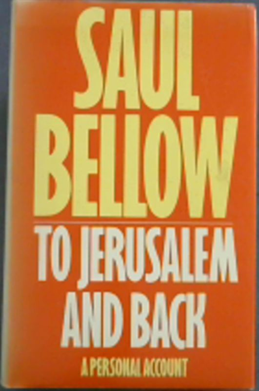 Image for To Jerusalem and Back: A Personal Account
