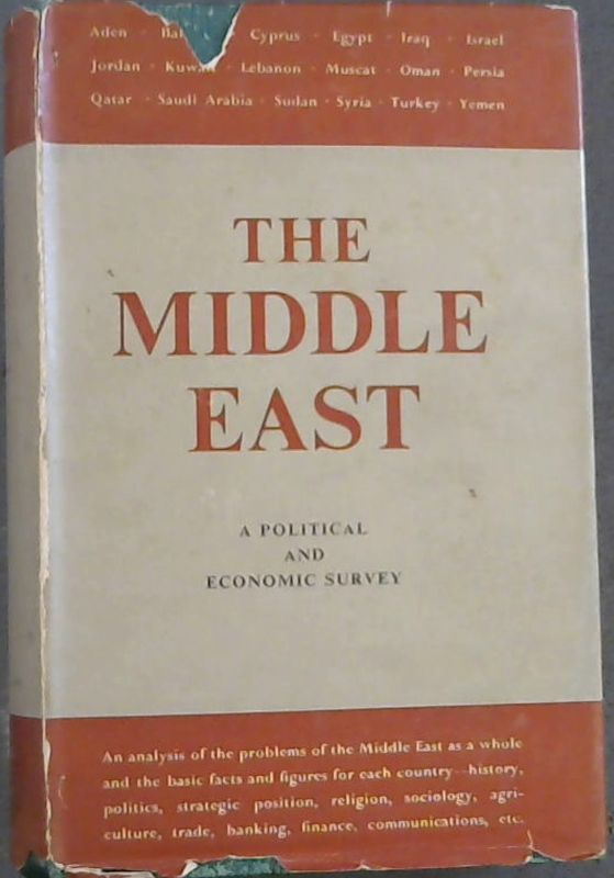 Image for The Middle East: A Political and Economic Survey