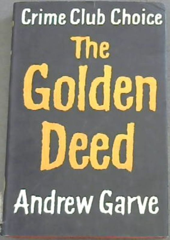 Image for The Golden Deed