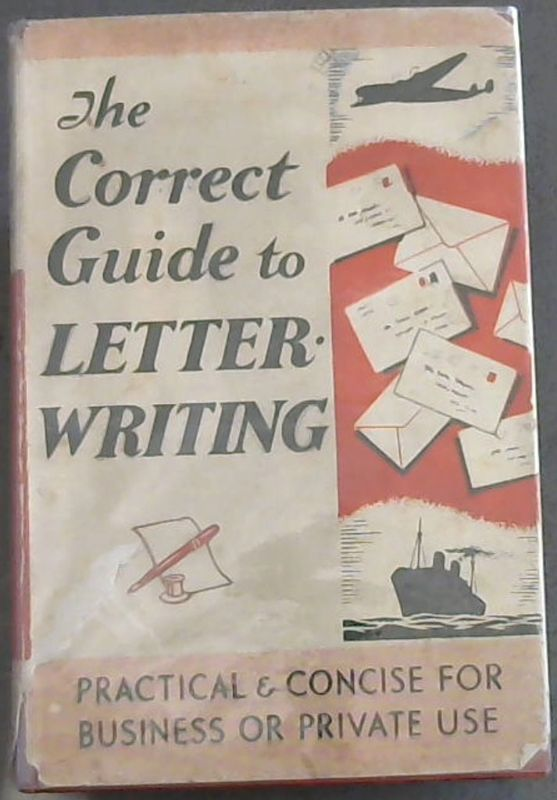 Image for The Correct Guide to Letter-Writing