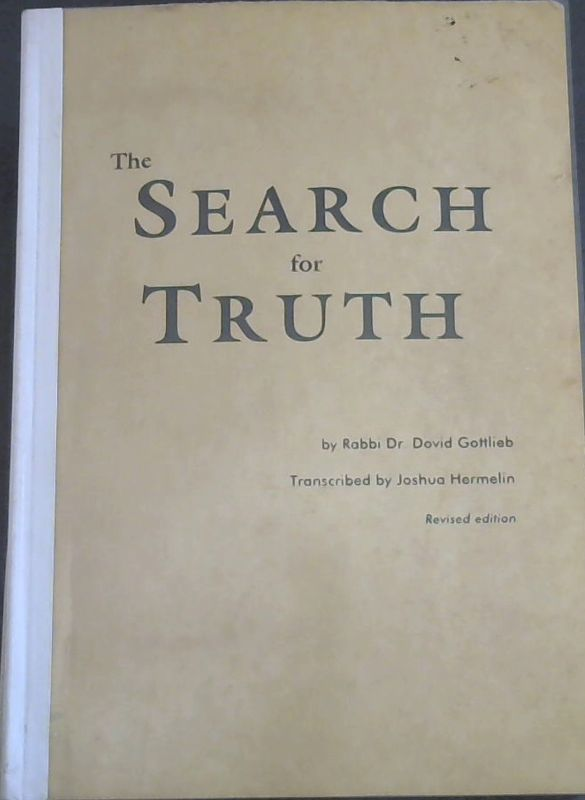 Image for The Search for Truth