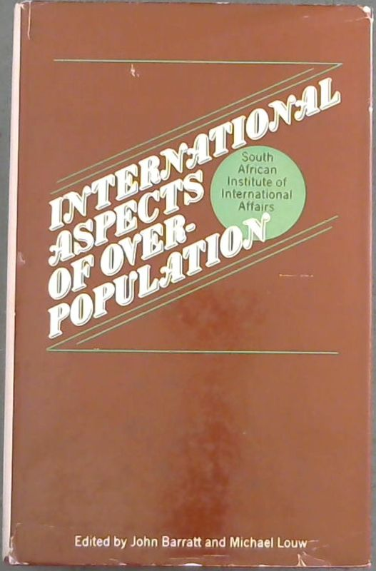 Image for International Aspects of Over-population