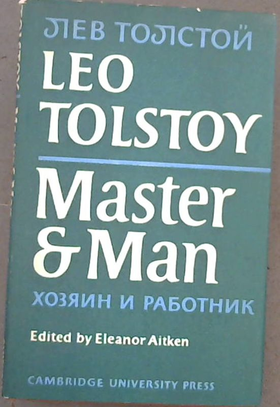 Image for Master and Man