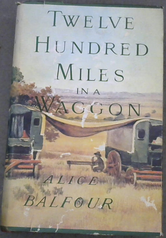 Image for Twelve Hundred Miles in a Waggon