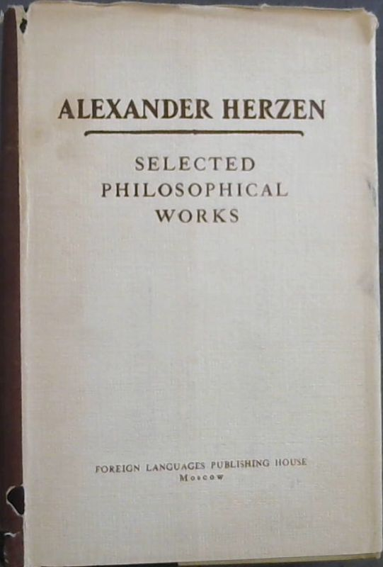 Image for Selected Philosophical Works