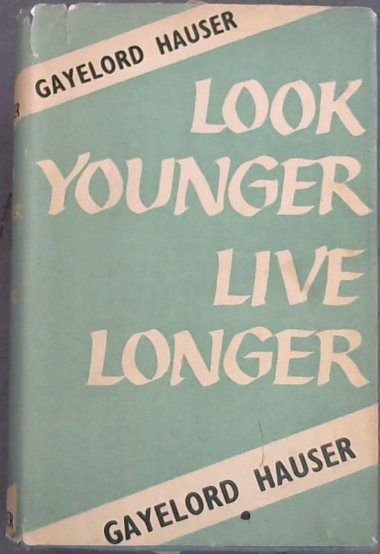 Image for Look Younger Live Longer