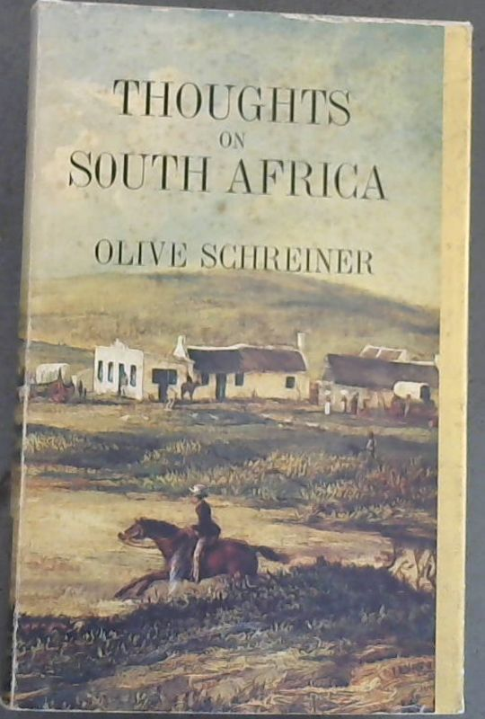Image for Thoughts on South Africa (Africana reprint library) Volume 10