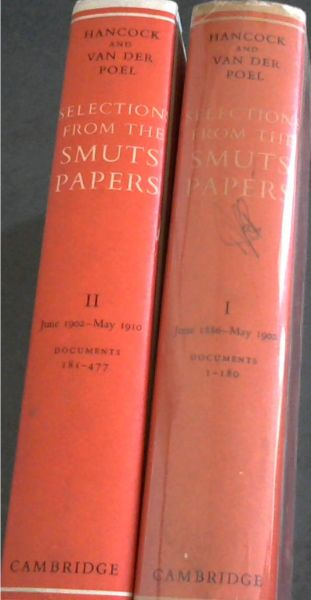 Image for Selections From the Smuts Papers : Volume I - June 1886-May 1902